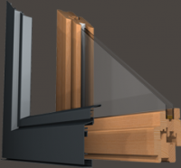 Fenêtre bois-alu 60: Fenêtre bois-alu 60